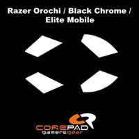 Skatez for Razer Orochi / Black Chrome / Elite Mobile (CS27820)