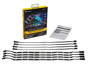 CORSAIR「RGB LED Lighting PRO Expansion Kit」