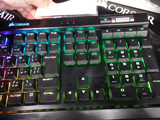 K70 RGB MK.2 LOW PROFILE RAPIDFIRE 右側