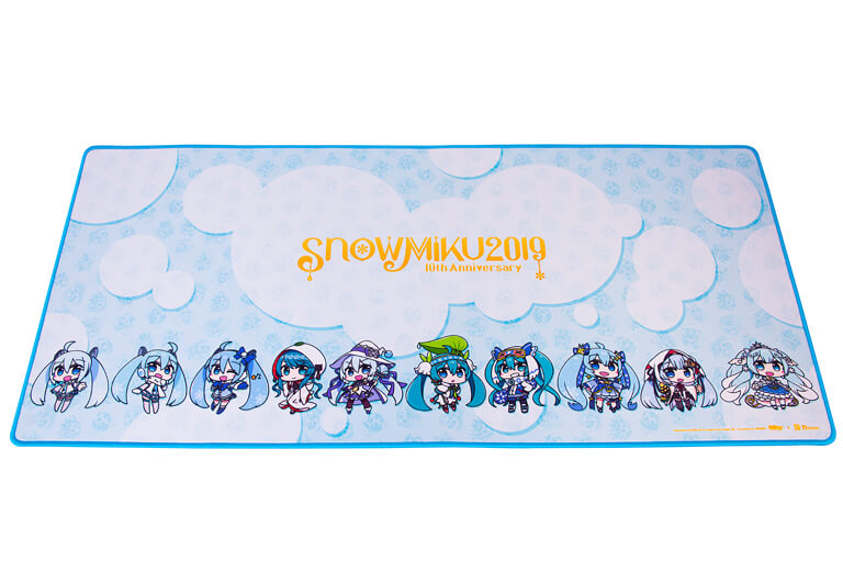 Gaming Mouse Pad HATSUNE MIKU EDITION おもて面下寄り
