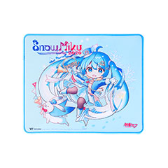 DASHER MEDIUM Gaming Mouse Pad SNOW MIKU EDITION 表面